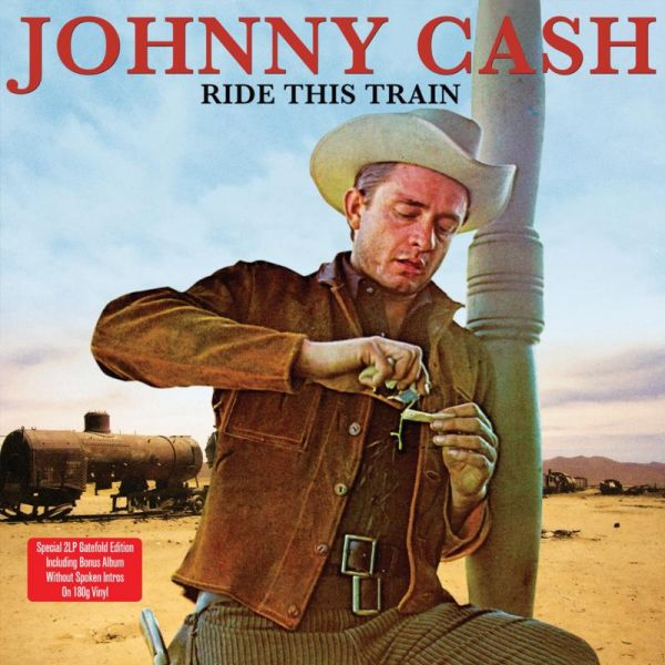 Copertina Disco Vinile 33 giri Ride This Train [2 LP] di Johnny Cash