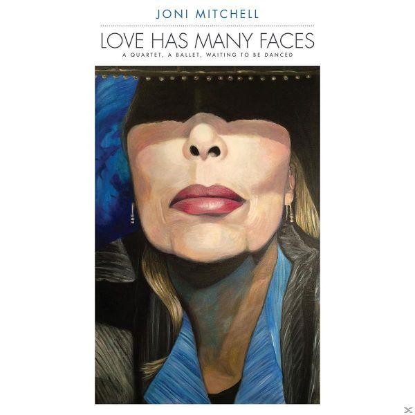 Copertina Vinile 33 giri Love Has Many Faces [Cofanetto 8xLP] di Joni Mitchell