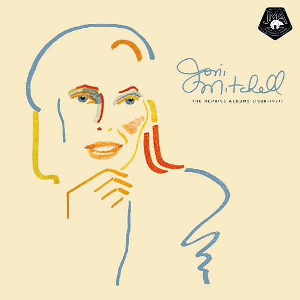 Copertina Vinile 33 giri The Reprise Albums (1968-1971)  di Joni Mitchell