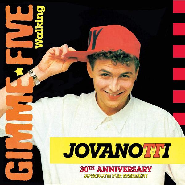 Copertina Vinile 33 giri Gimme Five/Walking [Singolo 45 Giri] di Jovanotti