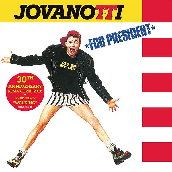 Copertina Vinile 33 giri Jovanotti for President di Jovanotti