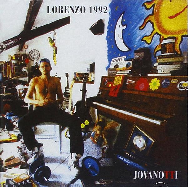Copertina Vinile 33 giri Lorenzo 1992 di Jovanotti