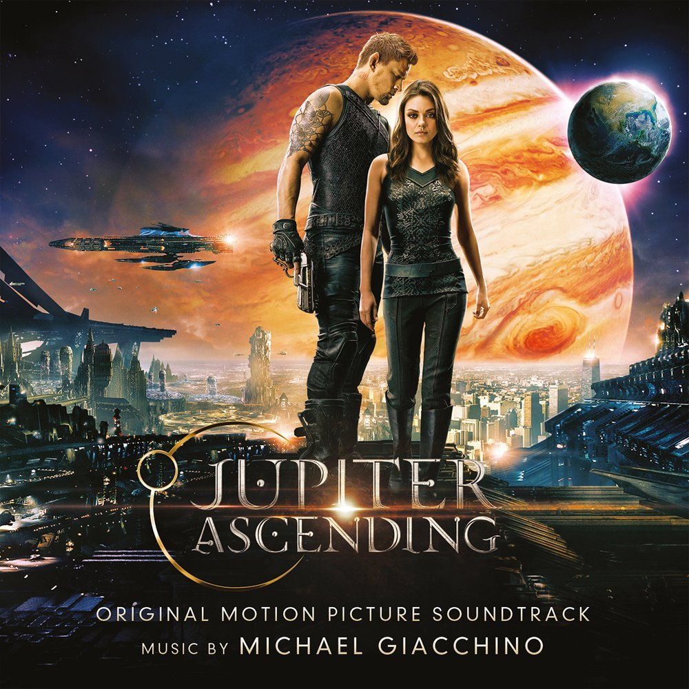 Copertina Disco Vinile 33 giri Jupiter Ascending [Soundtrack 2xLP] di Michael Giacchino