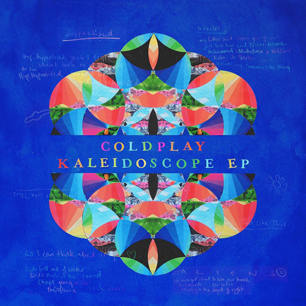 Copertina Vinile 33 giri Kaleidoscope EP di Coldplay