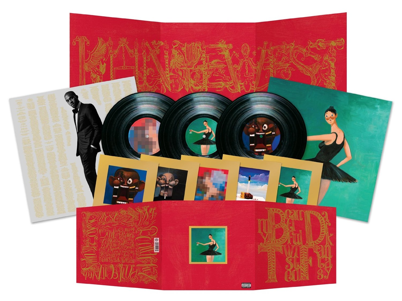 Copertina Disco Vinile 33 giri My Beautiful Dark Twisted Fantasy [3 LP] di Kanye West