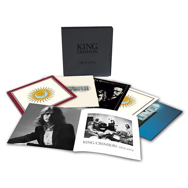 Copertina Vinile 33 giri 1972-1974 [Cofanetto 6xLP]  di King Crimson