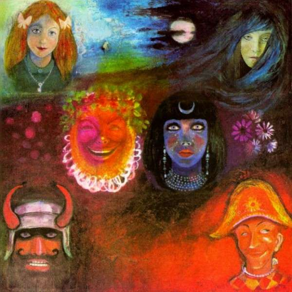 Copertina Disco Vinile 33 giri In The Wake Of Poseidon di King Crimson