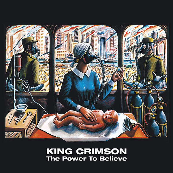 Copertina Vinile 33 giri The Power to Believe [2 LP]  di King Crimson