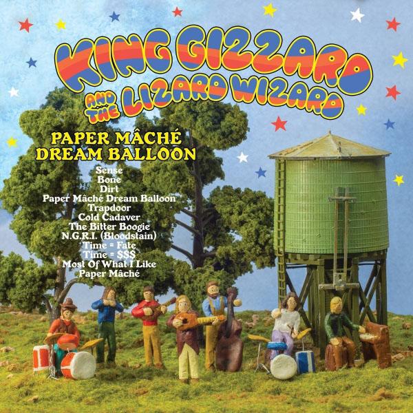 Copertina Disco Vinile 33 giri Paper Maché Dream Balloon di King Gizzard & the Lizard Wizard
