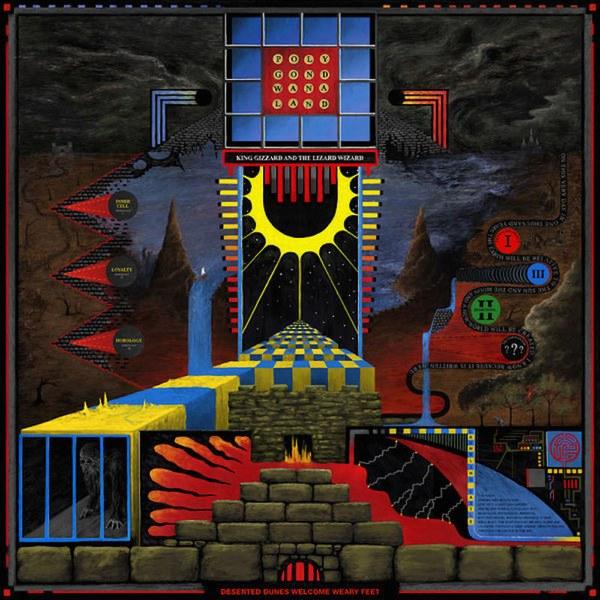 Copertina Vinile 33 giri Polygondwanaland di King Gizzard & the Lizard Wizard