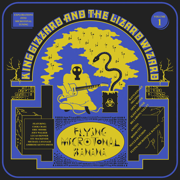 Copertina Disco Vinile 33 giri Flying Microtonal Banana di King Gizzard & the Lizard Wizard