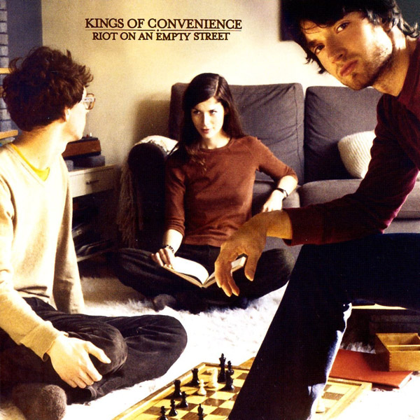 Copertina Disco Vinile 33 giri Riot on an Empty Street di Kings of Convenience