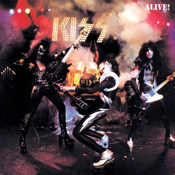 Copertina Disco Vinile 33 giri Alive! [2 LP] di Kiss