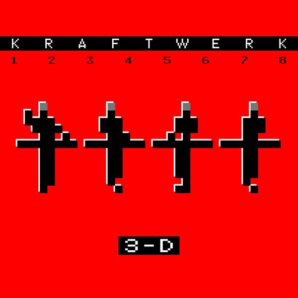 Copertina Vinile 33 giri 3-D The Catalogue [2 LP] di Kraftwerk
