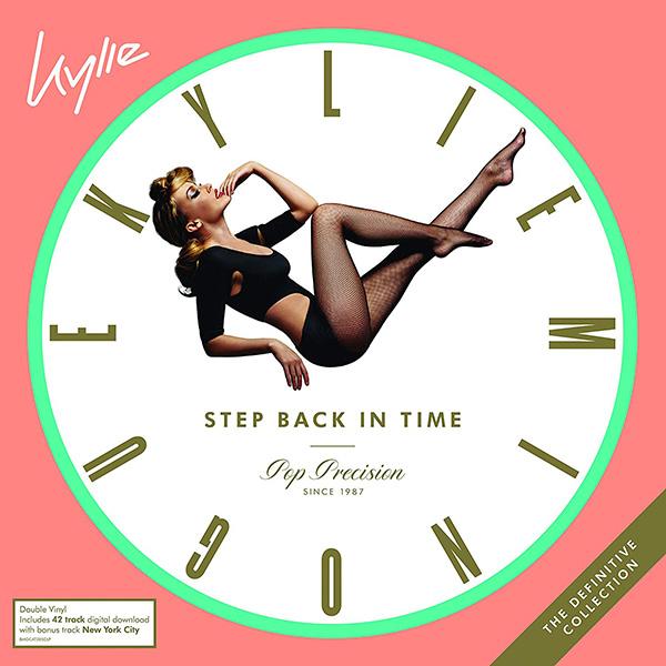 Copertina Vinile 33 giri Step Back in Time:  di Kylie Minogue