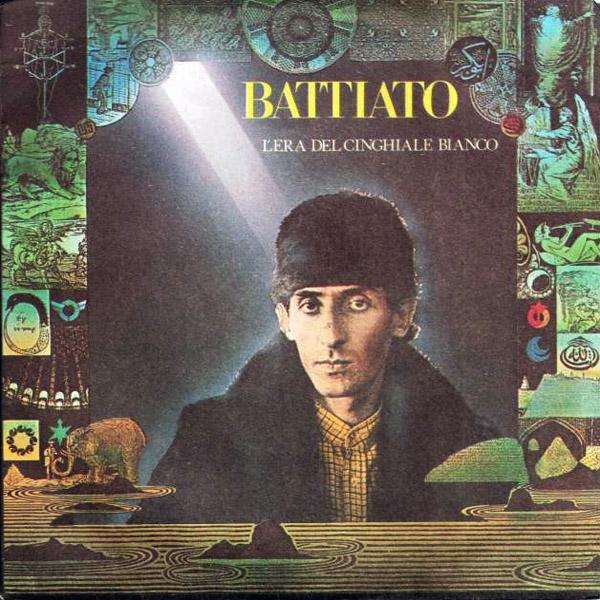 Copertina Disco Vinile 33 giri L'era Del Cinghiale Bianco [Singolo 45 Giri] di Franco Battiato