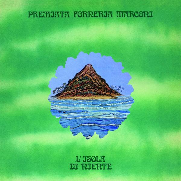 Copertina Disco Vinile 33 giri L'isola di niente di Premiata Forneria Marconi