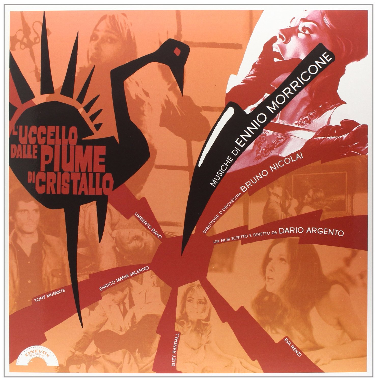 Copertina Disco Vinile 33 giri L'uccello dalle piume di cristallo [Soundtrack LP] di Ennio Morricone