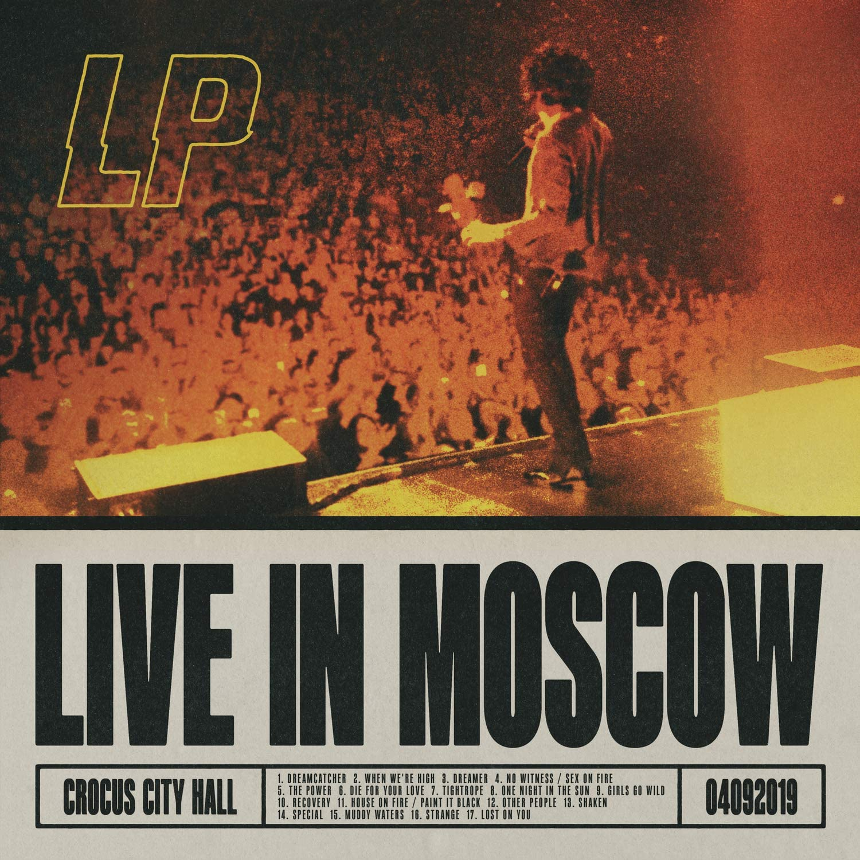 Copertina Vinile 33 giri Live In Moscow di LP