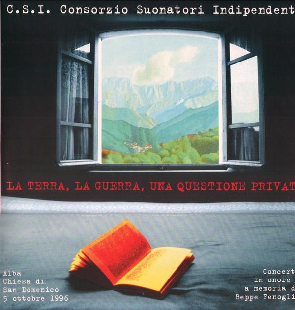 Copertina Disco Vinile 33 giri La Terra, La Guerra, Una Questione Privata [2 LP] di CSI