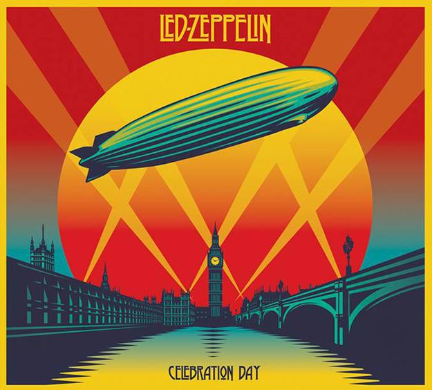 Copertina Disco Vinile 33 giri Celebration Day [3 LP] di Led Zeppelin