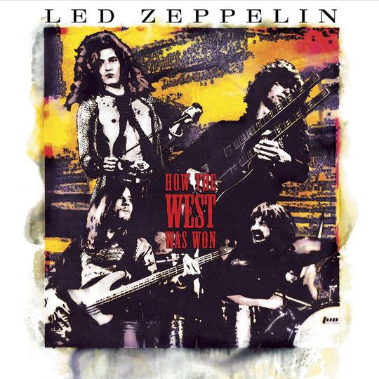 Copertina Vinile 33 giri How the West Was Won [Cofanetto 4xLP] di Led Zeppelin