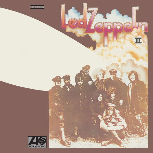 Copertina Disco Vinile 33 giri Led Zeppelin II [2 LP] di Led Zeppelin