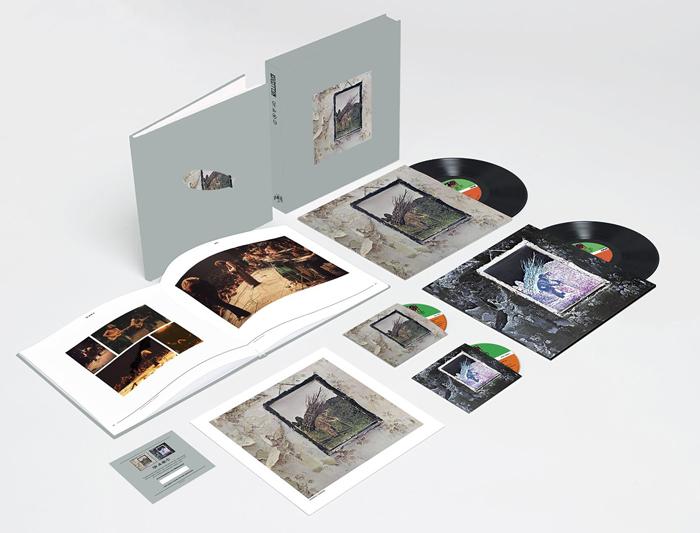 Copertina Disco Vinile 33 giri Led Zeppelin IV [2xLP 2xCD - Super Deluxe Edition Box] di Led Zeppelin
