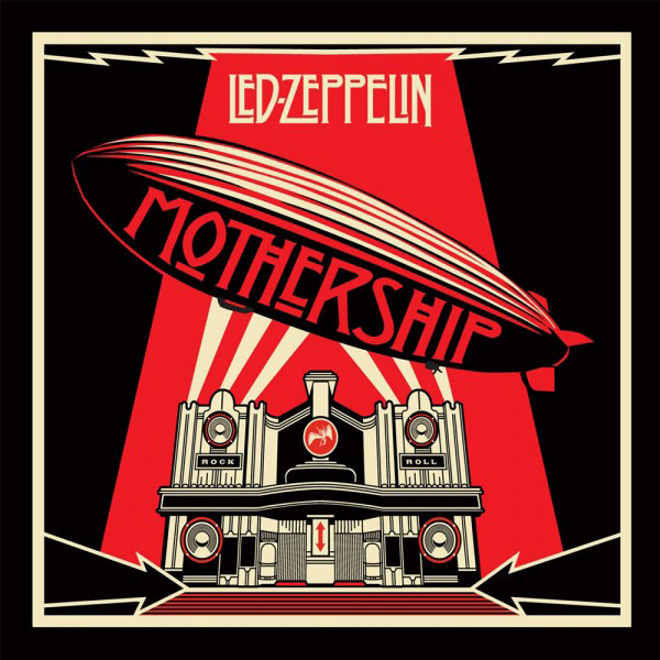Copertina Disco Vinile 33 giri Mothership  [Cofanetto 4xLP] di Led Zeppelin