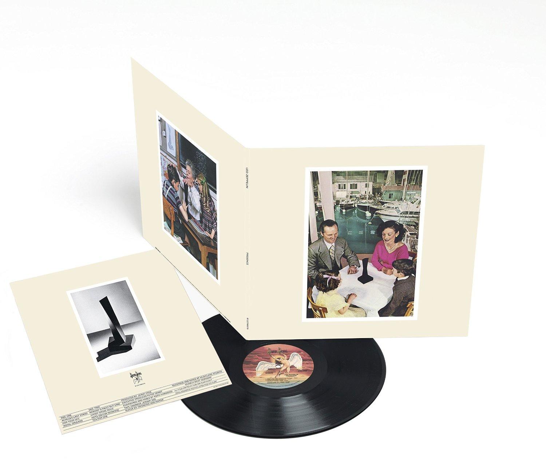Copertina Disco Vinile 33 giri Presence di Led Zeppelin