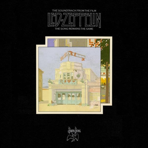 Copertina Disco Vinile 33 giri The Song Remains the Same [4 LP]   di Led Zeppelin