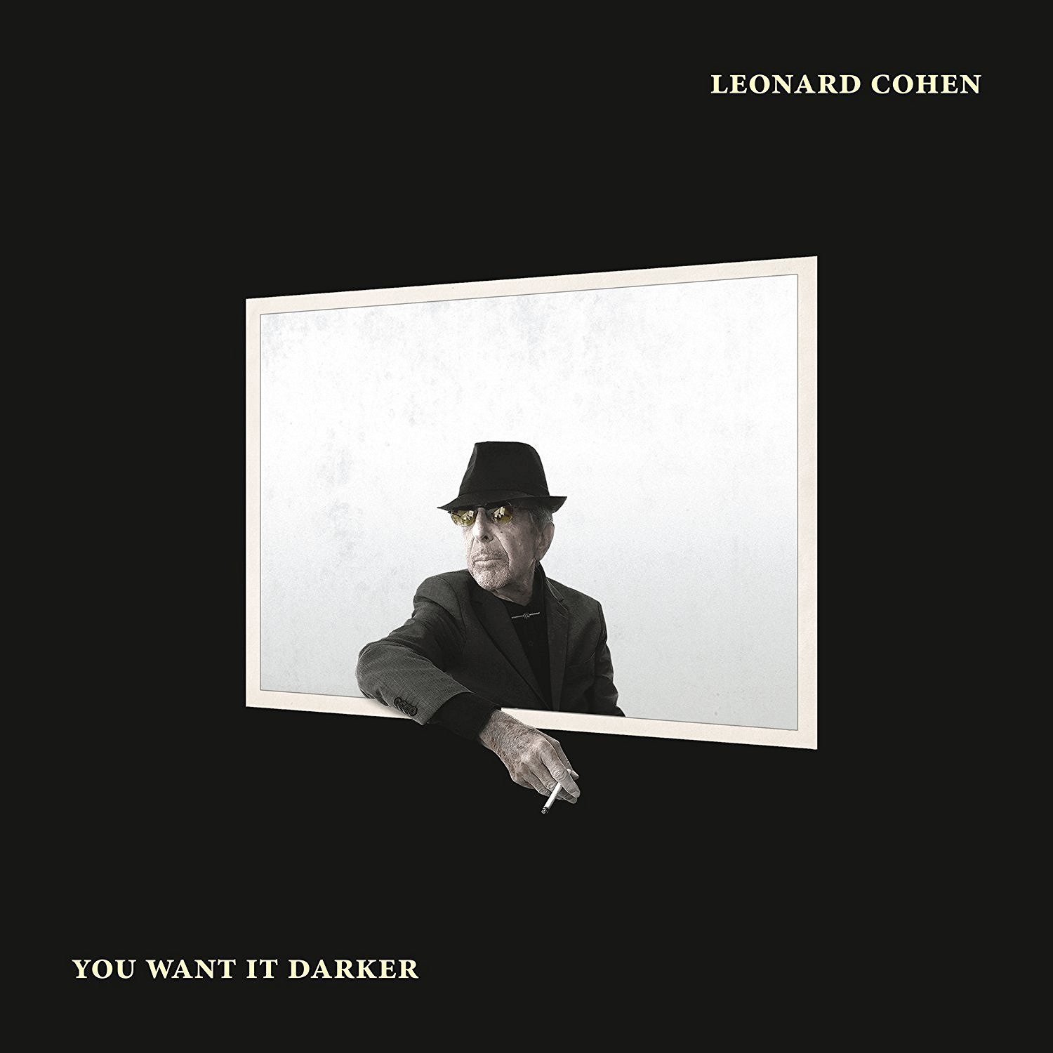 Copertina Disco Vinile 33 giri You Want It Darker di Leonard Cohen