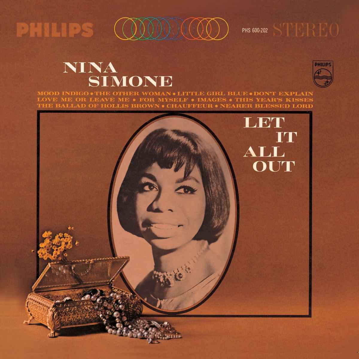 Copertina Disco Vinile 33 giri Let It All Out di Nina Simone