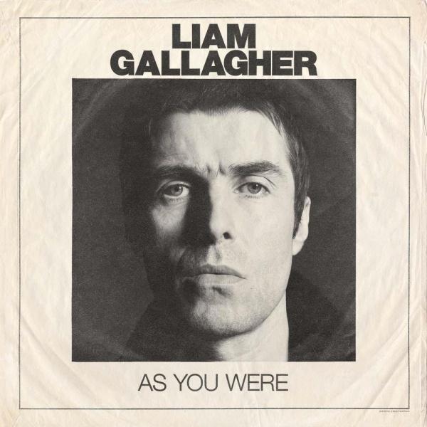 Copertina Vinile 33 giri As You Were di Liam Gallagher