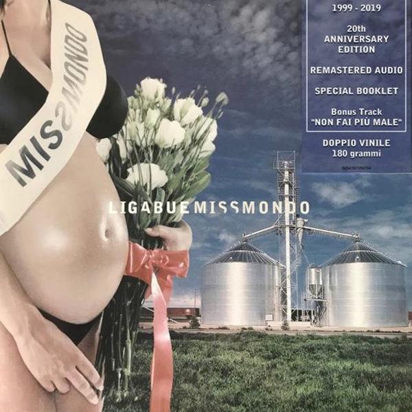 Copertina Vinile 33 giri Miss Mondo [2 LP] di Ligabue