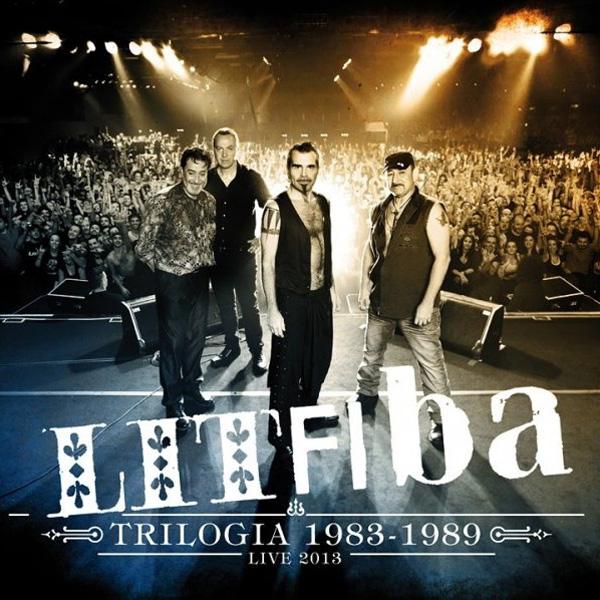 Copertina Disco Vinile 33 giri Trilogia 1983-1989 Live [3 LP] di Litfiba
