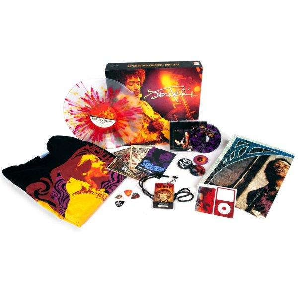 Copertina Disco Vinile 33 giri Live 1967-68 Paris/Ottawa [Cofanetto LP+CD] di Jimi Hendrix
