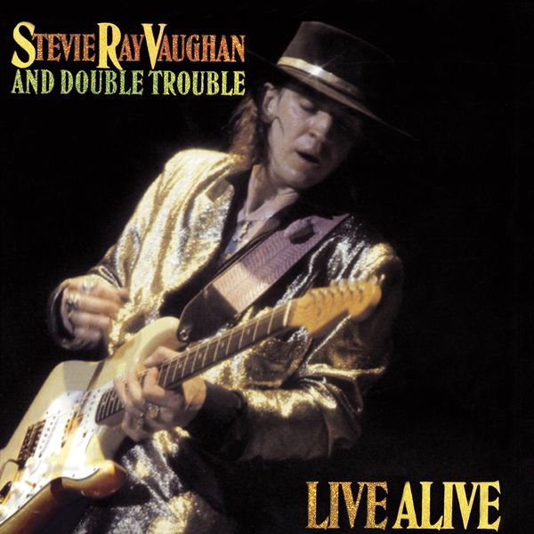 Copertina Disco Vinile 33 giri Live Alive [2 LP] di Stevie Ray Vaughan