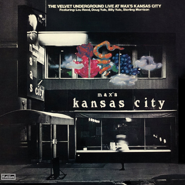 Copertina Disco Vinile 33 giri Live At Max's Kansas City [2 LP] di The Velvet Underground