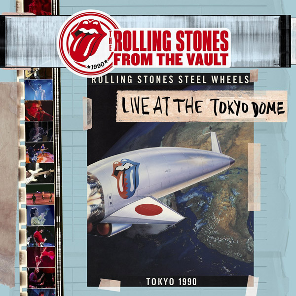Copertina Disco Vinile 33 giri Live At The Tokyo Dome 1990 [4xLP + DVD] di The Rolling Stones