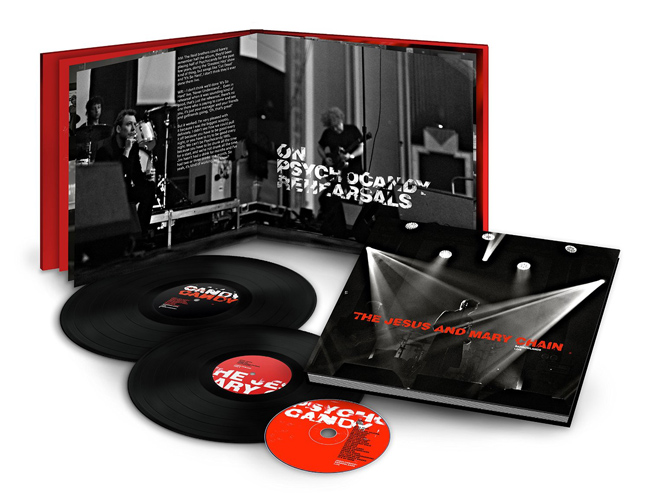 Copertina Disco Vinile 33 giri Barrowlands Live [Cofanetto 2xLP + CD] di The Jesus and Mary Chain
