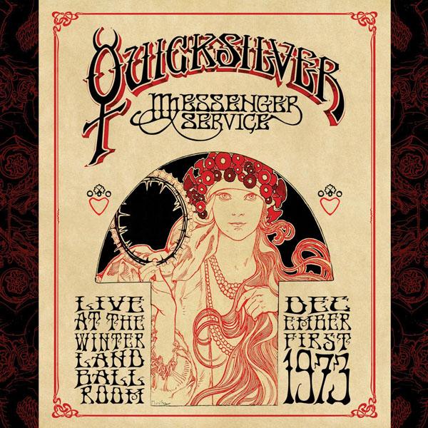 Copertina Disco Vinile 33 giri Live at Winterland Ballroom  [2 LP] di Quicksilver Messenger Service