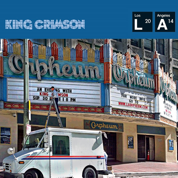 Copertina Disco Vinile 33 giri Live at the Orpheum  di King Crimson