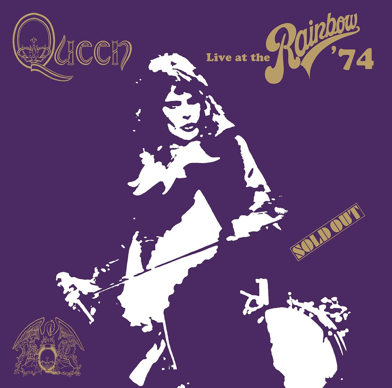 Copertina Disco Vinile 33 giri Live at the Rainbow '74 [2 LP] di Queen