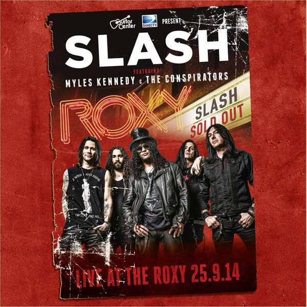 Copertina Disco Vinile 33 giri Live at the Roxy [3 LP] di Slash