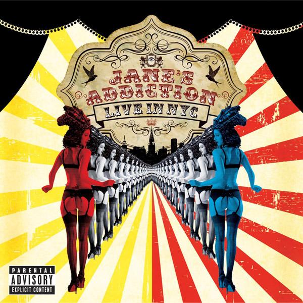 Copertina Disco Vinile 33 giri Live in NYC [2 LP] di Jane's Addiction