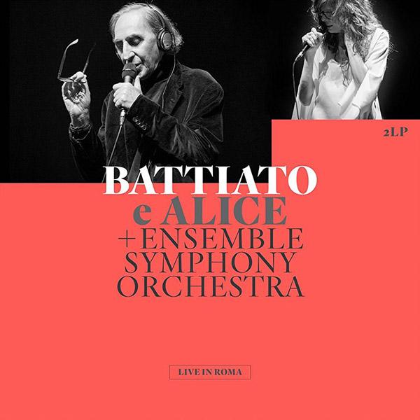 Copertina Disco Vinile 33 giri Live in Roma [2 LP] di Franco Battiato