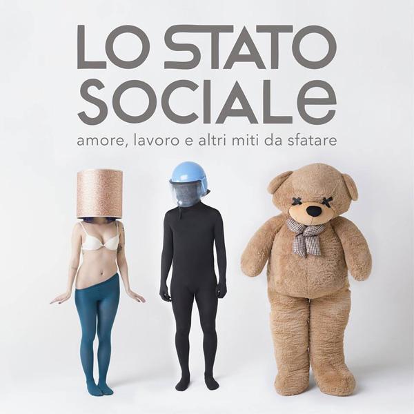 Copertina Vinile 33 giri Amore, Lavoro e altri Miti da Sfatare di Lo Stato Sociale