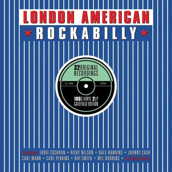 Copertina Disco Vinile 33 giri London American Rockabilly [2 LP] di Vari Artisti