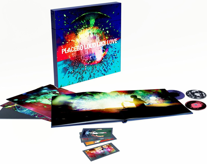 Copertina Disco Vinile 33 giri Loud Like Love [Cofanetto 3LP+2DVD+CD] di Placebo